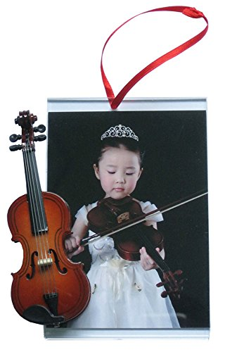 Picture Frame Ornament with Violin
