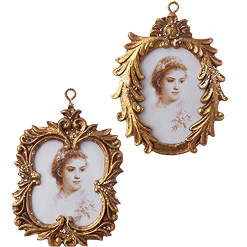 3.5″ FRAME ORNAMENTS-Set of Two
