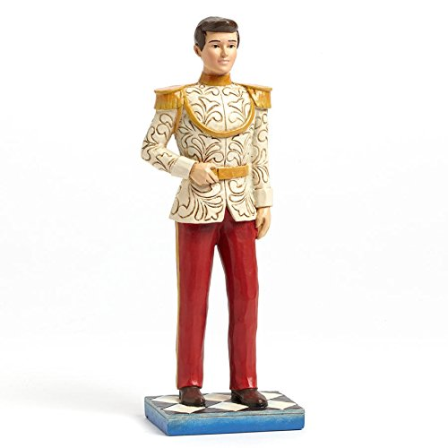 Department 56 Disney Traditions by Jim Shore Prince Charming Figurine, 7.5″