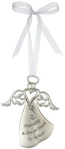 Ganz Friendship & Love Are Bound by the Heart – Ornament Christmas Angel Gift ER26805-GANZ