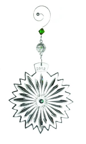 Waterford 2012 Snowflake Wishes for Courage Ornament, 2nd Edition