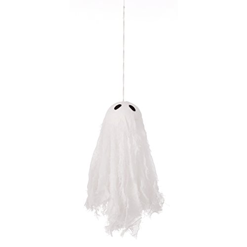 Sage & Co. FAO18716WH Torn Muslin Ghost Ornament (12 Pack)