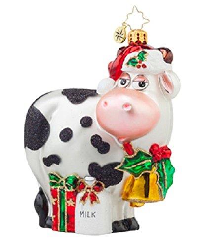 Christopher Radko Milk Delivery Christmas Ornament