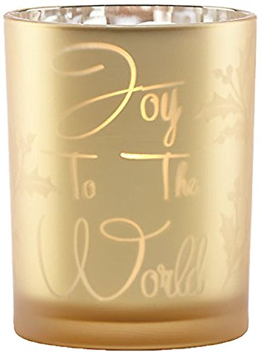 Lenox Joy to The World Mercury Glass Votive