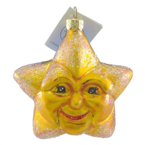 Christopher Radko DAY OR NIGHT Glass Ornament