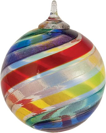 Glass Eye Studio Designer Classic PRIDE Ornament