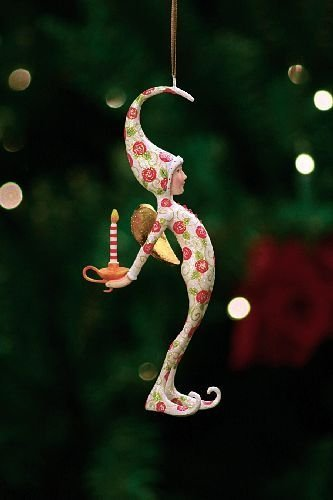 Patience Brewster Rose Pj Fairy Ornament
