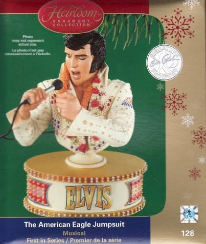 Carlton Heirloom Ornament Elvis Presley – The American Eagle Jumpsuit