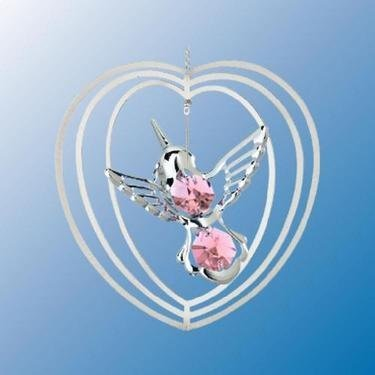 Hummingbird Suncatcher Ornament by Crystal Delight by Mascot