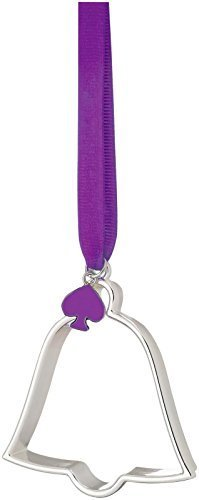 kate spade new york Tough Cookie Metal Ornament, Bell by kate spade new york
