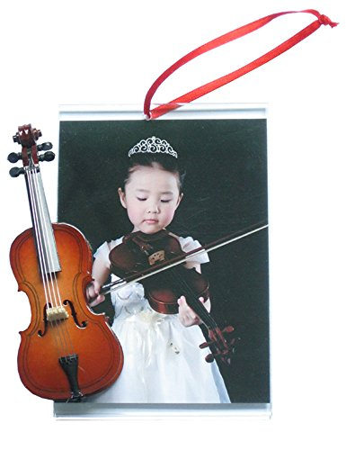 Picture Frame Ornament with Cello
