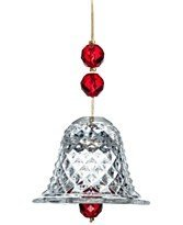 Baccarat 2012 Crystal Bell Ornament by Baccarat