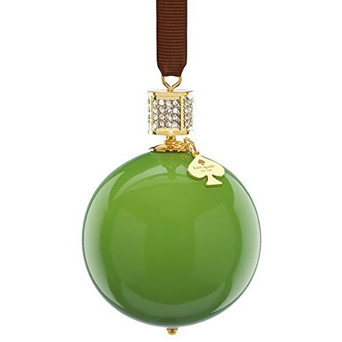 Kate Spade New York Bejeweled Pave Green Ornament Lenox by kate spade new york