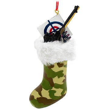 Camoflauge Hunting Stocking Ornament Hunters 988473