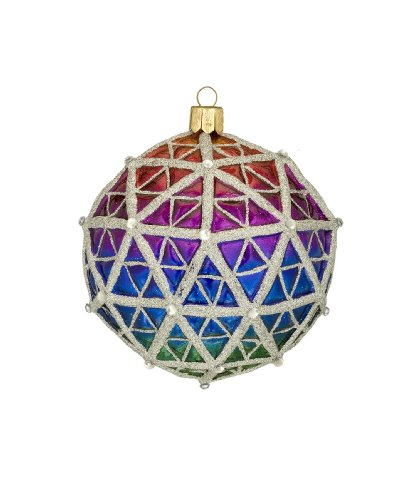 "Wateford Holiday Heirlooms® ""Let There Be Courage"" Times Square Replica Ball, Christmas Ornament"