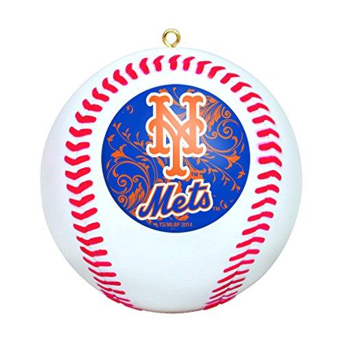 MLB New York Mets Replica Baseball Ornament