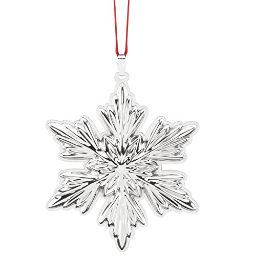 Reed & Barton Best of The Season Holiday Snowflake Ornament