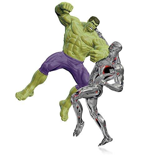 Marvel – Avengers: Age of Ultron – The Hulk vs. Ultron Ornament 2015 Hallmark