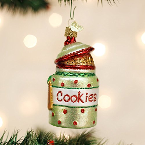 Old World Christmas Cookie Jar Glass Blown Ornament
