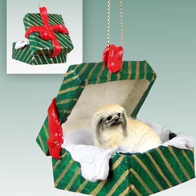 Pekingese Christmas Ornament Hanging Gift Box
