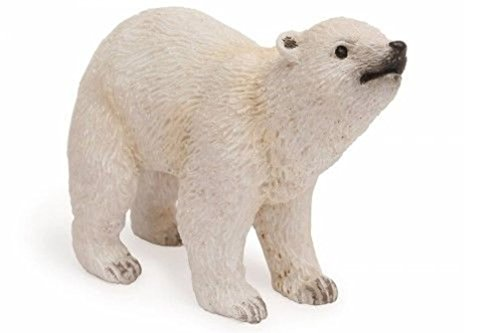Lunarland Miniature Dollhouse FAIRY GARDEN Baby Polar Bear