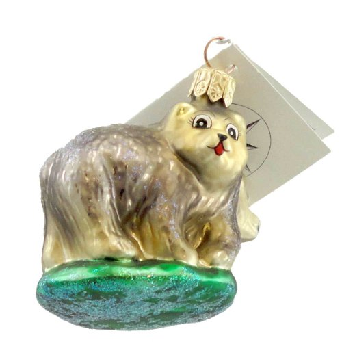 Christopher Radko PETITE BEARS Blown Glass Ornament Two By Two Christmas