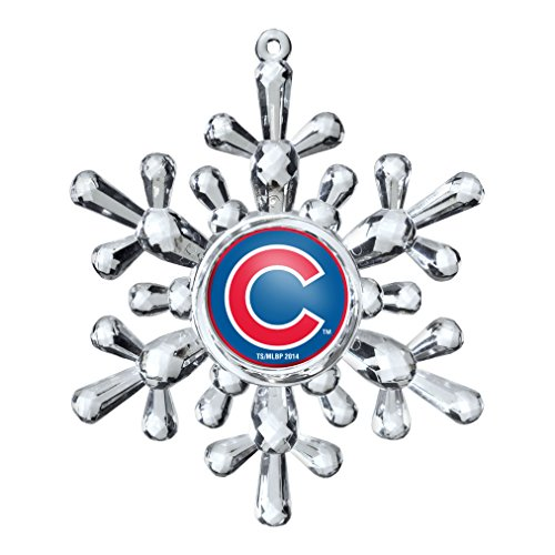 MLB Chicago Cubs Snowflake Ornament