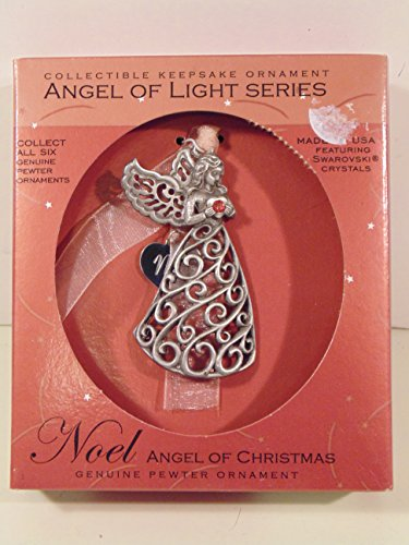 "Angel of Light Series Ornament ""Noel Angel of Christmas"""