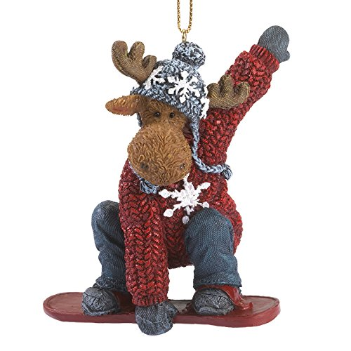 Boyds Myron Mooselton Christmas Ornament