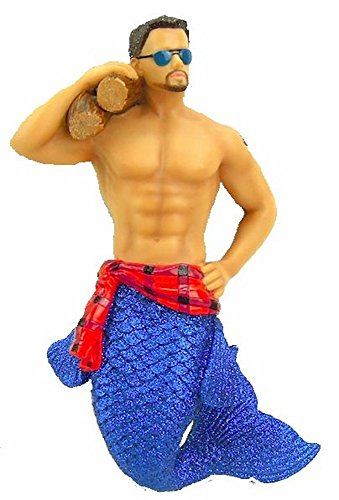 December Diamonds Lumber Jack Merman Ornament