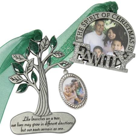 Gloria Duchin 2pc Family Ornament Gift Set WLM