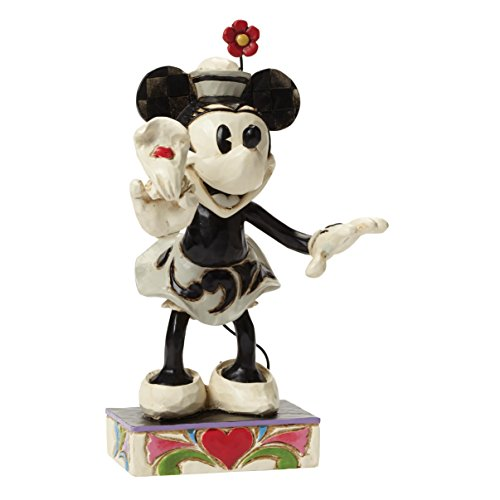 Department 56 Disney Traditions by Jim Shore Minnie Mouse Figurine, 6″