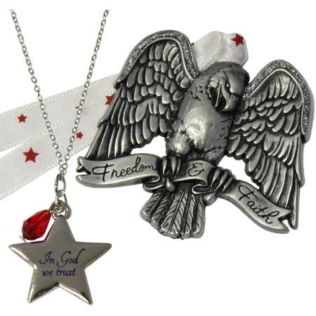 Gloria Duchin Patriotic Ornament and Pendant Set WLM