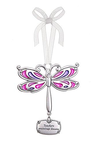 Teachers Encourage Dreams Dragonfly Charm Ornament – By Ganz