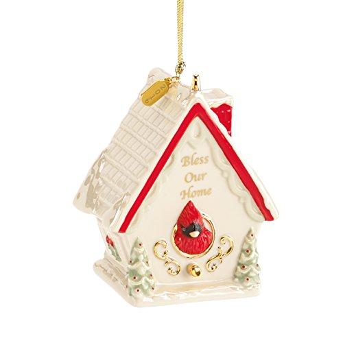 Lenox 2016 Bless Our Home Birdhouse Ornament