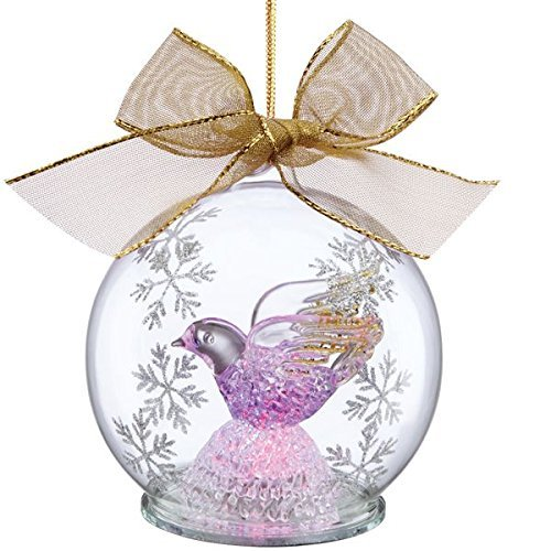 Lenox Wonder Ball Lighted Dove Ornament
