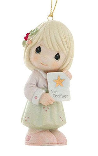 "Precious Moments ""Teacher, You Are My Shining Star""  Ornament"