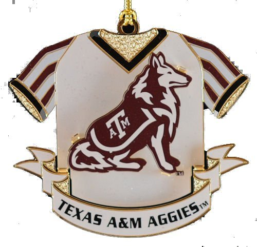 ChemArt Texas A&M Mascot Ornament