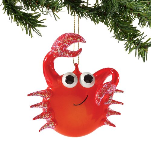 Department 56 Funny Red Crab Ornament