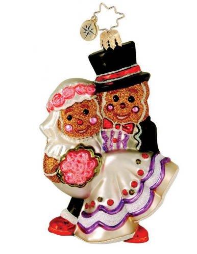 Christopher Radko Ornament Gingerbread Vows