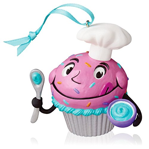 Baker's Dozen Chef Cupcake Keepsake Ornament 2016 by Hallmark