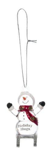 Ganz Sledding Snowman – Holiday Hugs – Ornaments NEW Gifts Christmas SLX2356-GANZ