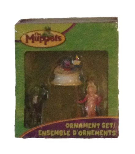 The Muppets Carlton Cards Three Piece Christmas Ornament Set