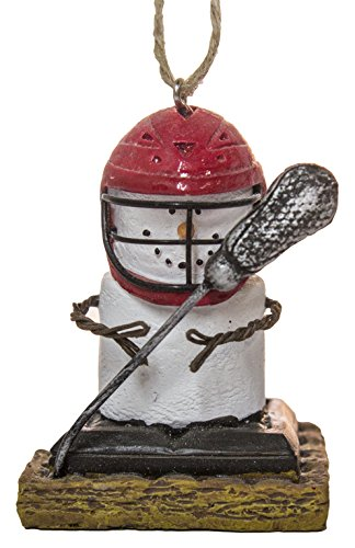 S'Mores Lacrosse Player Christmas/ Everyday Ornament