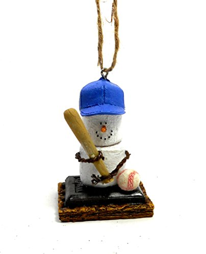S'mores Sports Christmas Ornaments Choose Style (Baseball)