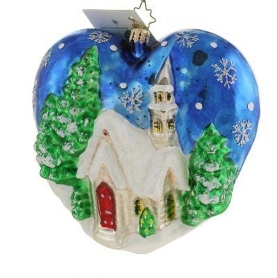 "Christopher Radko ""Blessings And Love"" Decorative Ornament #02-0046-0"