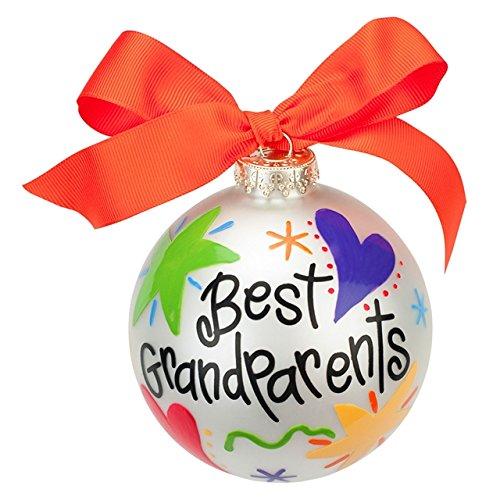 Coton Colors Best Grandparents Glass Ornament