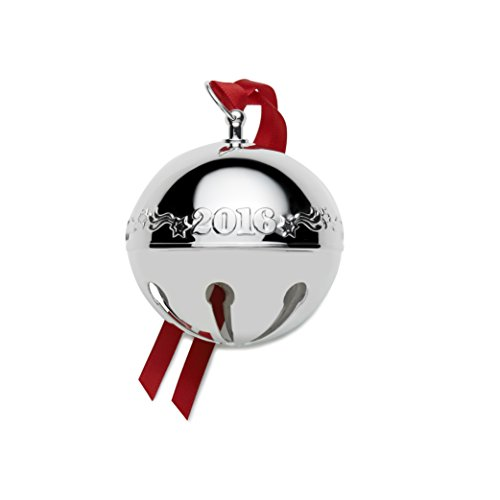 Wallace 2016 Sterling Sleigh Bell Ornament, 22Nd Edition
