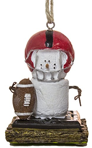 S'Mores Football Player Christmas/ Everyday Ornament