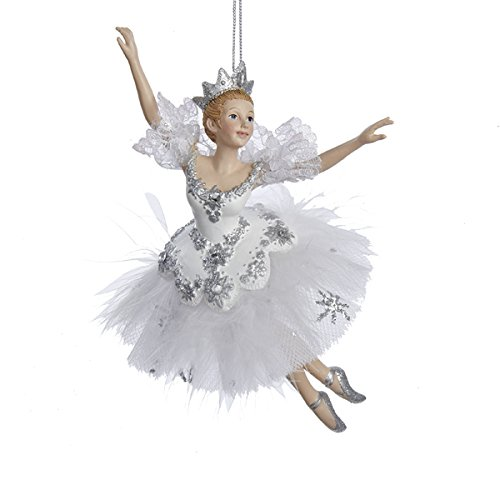 6.75″ Snow Queen Ballerina Ornament